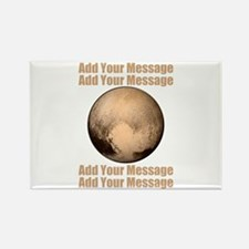 PERSONALIZED Pluto Rectangle Magnet
