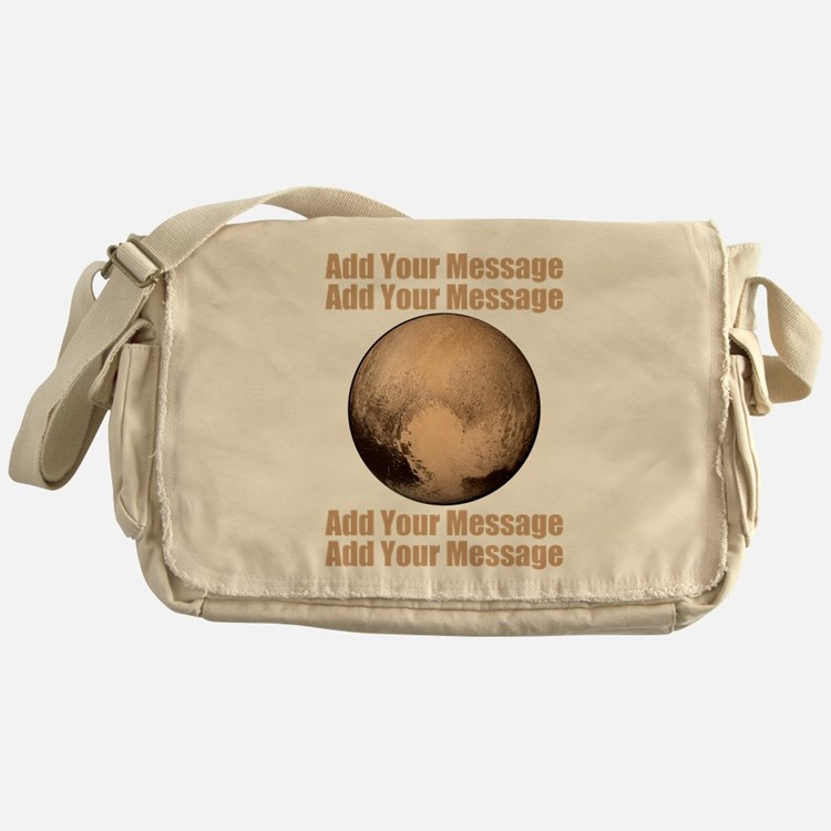 PERSONALIZED Pluto Messenger Bag