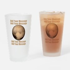 PERSONALIZED Pluto Drinking Glass