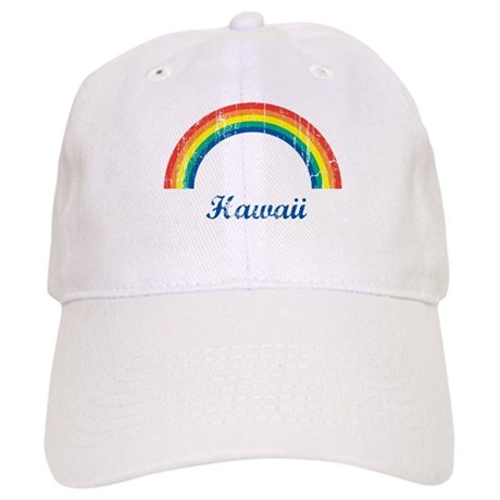 Hawaii (vintage rainbow) Cap