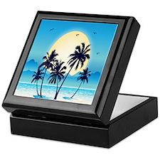 Tropical Keepsake Box