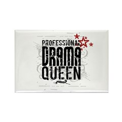 Professional Drama Queen Rectangle Magnet (10 pack