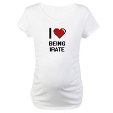 I Love Being Irate Digitial Desi Shirt