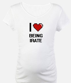 I Love Being Irate Digitial Desi Shirt