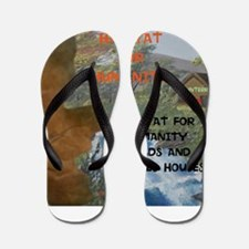 HFH BUILDS AND RESTORES HOUSES. Flip Flops
