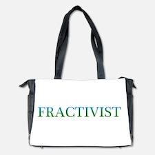 Fractivist Diaper Bag