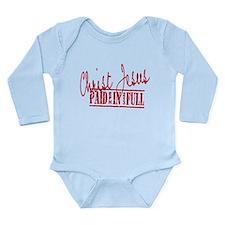 Paid in Full Long Sleeve Infant Bodysuit