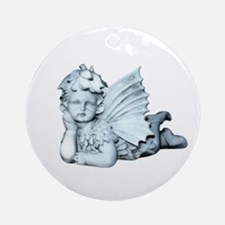 Sweet Cherub Ornament (Round)