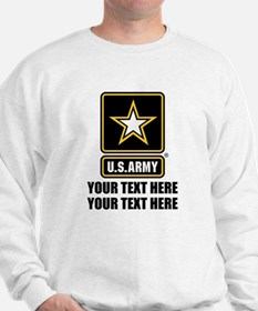 CUSTOM TEXT U.S. Army Jumper
