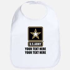 CUSTOM TEXT U.S. Army Bib