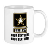 Personalized us army Small Mugs (11 oz)