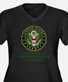 CUSTOM TEXT U.S. Army Plus Size T-Shirt