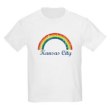 Kansas City (vintage rainbow) T-Shirt