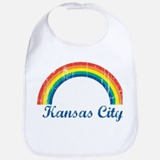 Kansas City (vintage rainbow) Bib