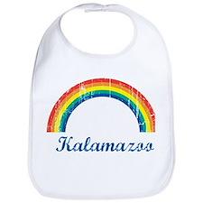 Kalamazoo (vintage rainbow) Bib