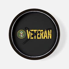 U.S. Army: Veteran Wall Clock