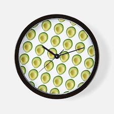 Scrummie Avocado Juliette's Fave Wall Clock