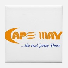 Cape May the Real Jersey Shore Tile Coaster