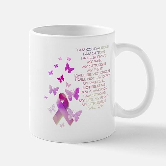 Pink Ribbon, the Fight Mug
