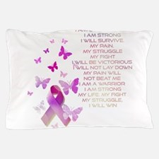 Pink Ribbon, the Fight Pillow Case