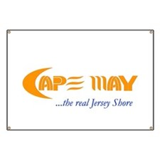 Cape May the Real Jersey Shore Banner