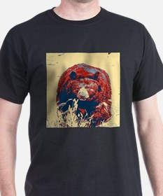 mountain wildlife grizzly bear T-Shirt