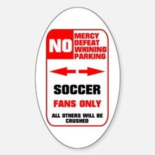no parking soccer Decal