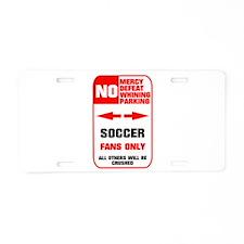 no parking soccer Aluminum License Plate