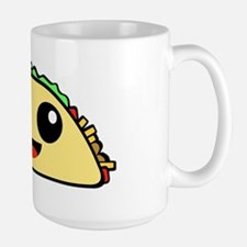 Cute Kawaii Taco Large Mug