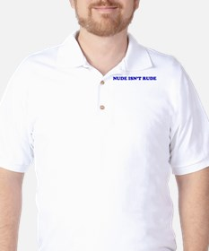 Pro nudity Golf Shirt