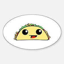 Cute Kawaii Taco Decal