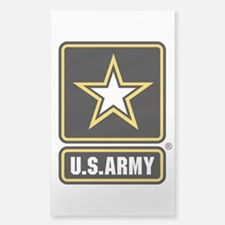 U.S. Army Logo Sticker (Rectangle)