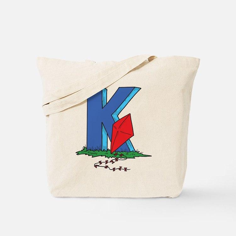 K For Kite Tote Bag