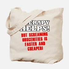 THERAPY HELPS Tote Bag