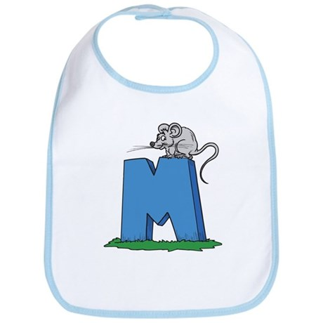 M For Mouse Bib