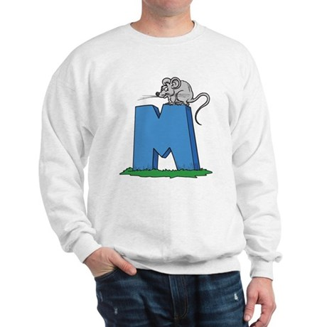 M For Mouse Sweatshirt