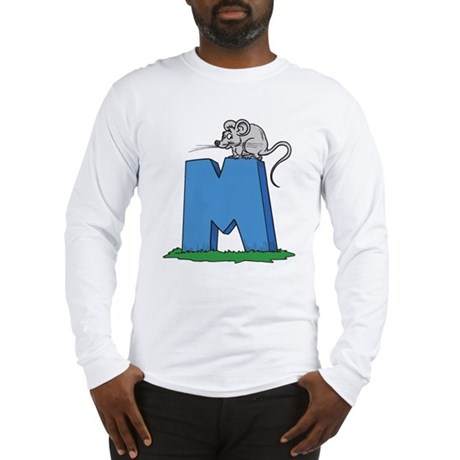 M For Mouse Long Sleeve T-Shirt