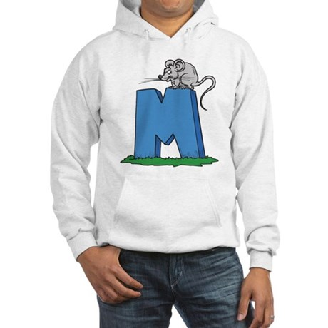 M For Mouse Hooded Sweatshirt