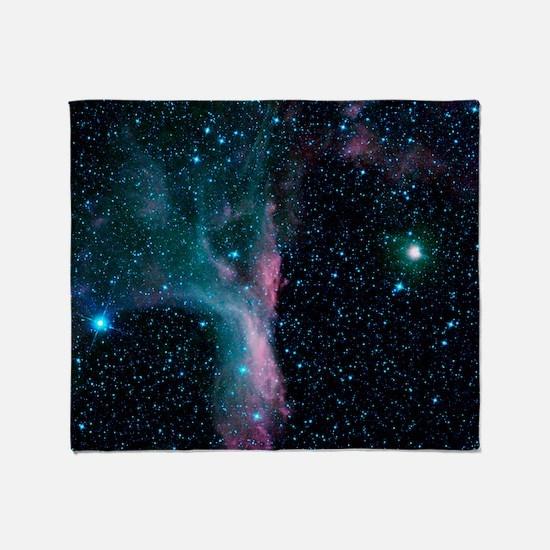 Scorpion's Claw Nebula Throw Blanket