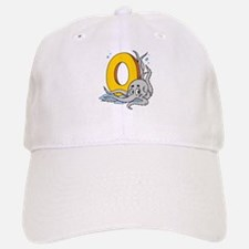 O For Octopus Baseball Baseball Cap