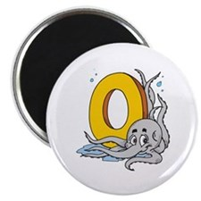 O For Octopus Magnet