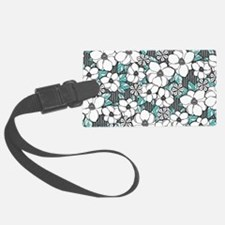 Unique Teal Luggage Tag