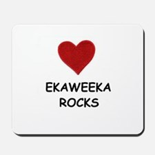 EKAWEEKA ROCKS Mousepad