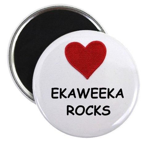 "EKAWEEKA ROCKS 2.25"" Magnet (10 pack)"