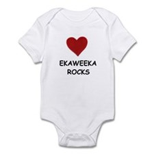 EKAWEEKA ROCKS Infant Bodysuit