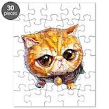 Cat lady Puzzles