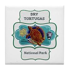 Drytortugas Tile Coaster