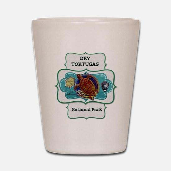 Drytortugas Shot Glass
