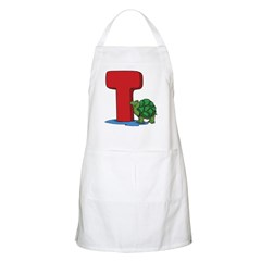 T For Turtle BBQ Apron