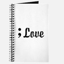 Love Semicolon Journal